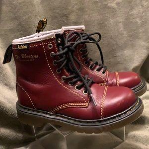 Dr. Martens Air Wair Boots Kids bruiser cherry 12